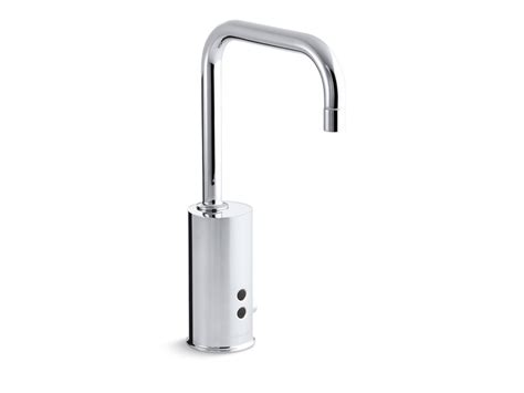 kohler touchless kitchen faucet kohler touchless 174 single with insight bathroom faucet polished chrome k 13474 cp