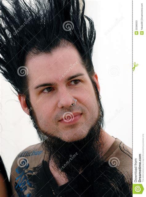 wayne static hair tutorial wayne static editorial stock photo image 25396553