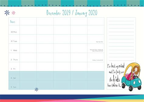 born  shop  family planner  calendar club uk