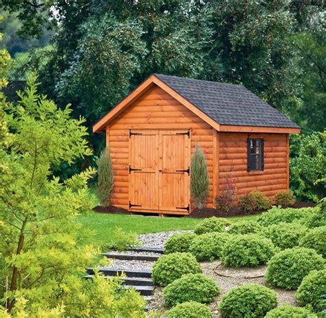 log sided sheds log sided garages log sided storage sheds