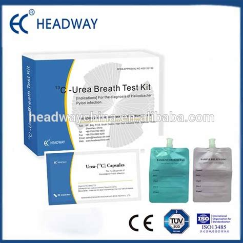 breath test per helycobacter pylori helicobacter pylori urea breath test kit for gastric ulcer
