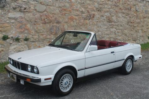 1990 bmw convertible 52k mile 1990 bmw 325i convertible 5 speed for sale on bat