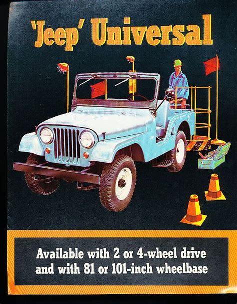 jeep print ads 1964 1965 jeep universal cj5 cj 6 cj 5 original car sales