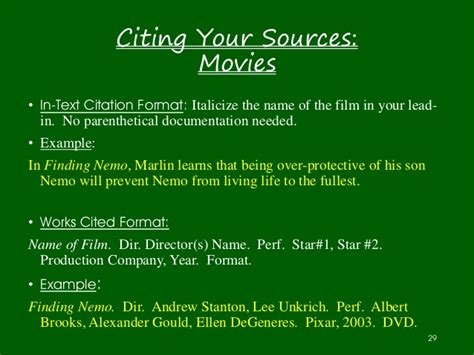 How To Reference Dvds In Essay by Ms Forrester S Guide To Research Papers 2015