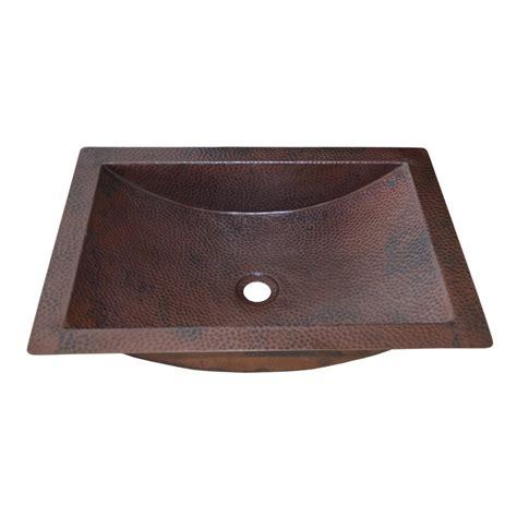 copper undermount bathroom sink avila copper bathroom sink trails
