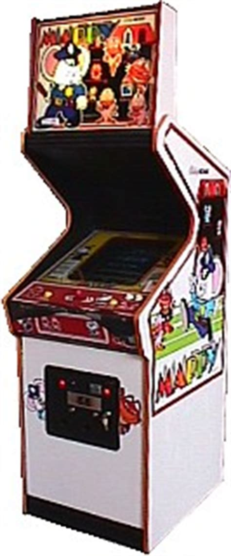 Mappy Arcade Cabinet by Mappy Videogame By Namco