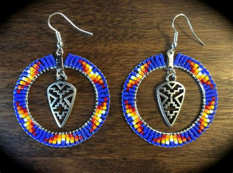 beadwork blue 1000 images about diy earrings on
