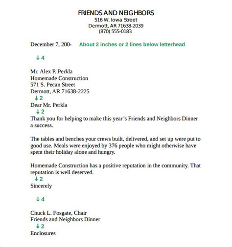 Business Letter Format Without Letterhead business letter format without letterhead 28 images