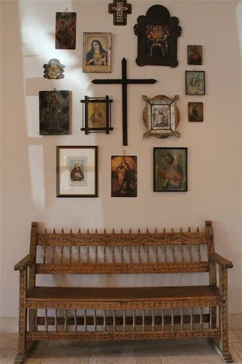 religious wall ideas 25 best ideas about mexican wall decor on deer heads mexican style decor and