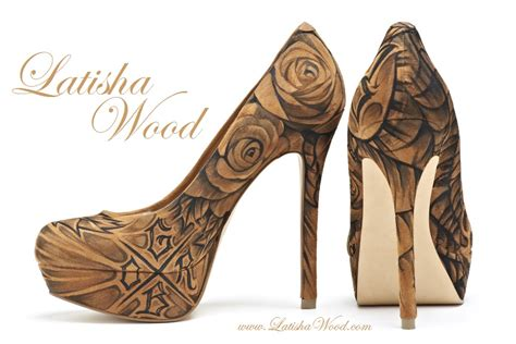 personalized high heels latisha wood s custom high heels february 2012