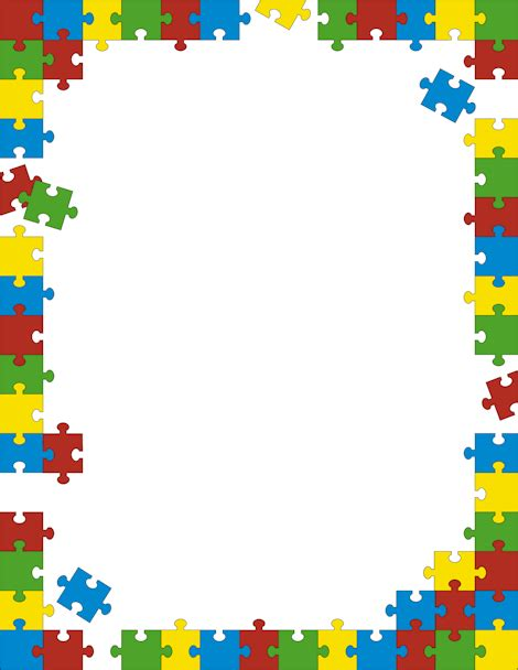printable jigsaw paper printable puzzle border free gif jpg pdf and png