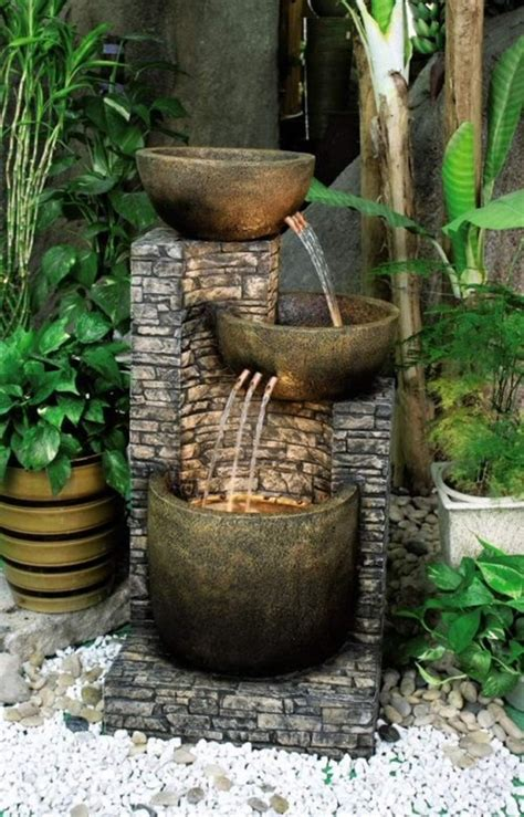 backyard water fountains ideas 40 beautiful garden fountain ideas