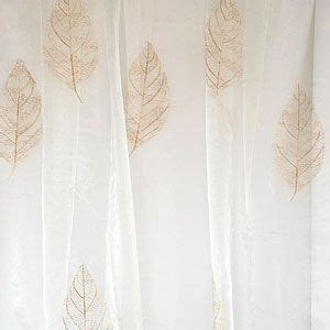 find curtains and drapes sheer curtains with leaf pattern read professional