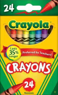 crayola colors crayola crayons 24 colors pack of 6 toys
