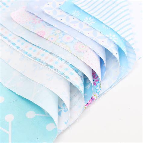 Cotton Patchwork Fabric - 10x mult size cotton fabric patchwork batiks mixed bundle