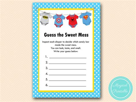 18 baby shower mad libs template baby shower game