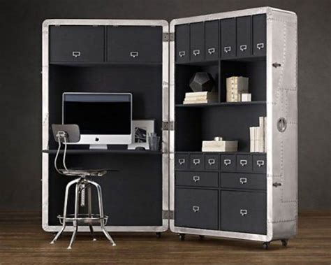 Space Saving Office Desks The Following Are Exles Of Simple Space Saving Mobile Office Design Is Simple And