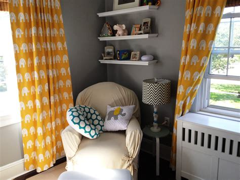 Yellow And White Curtains For Nursery Yellow And Gray Nursery Curtains Www Pixshark Images Galleries With A Bite