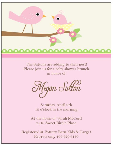 invitations baby shower girl theruntime com