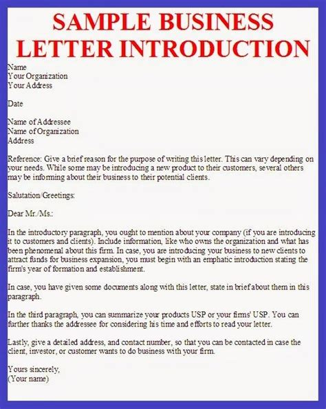 Introduction Letter Canada 17 Best Ideas About Business Letter Sle On Business Letter Format Formal