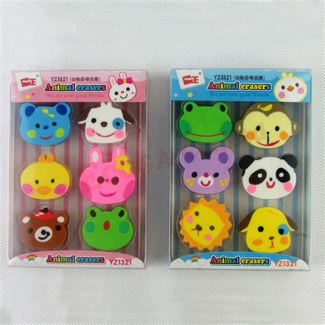 Sweepstakes For Kids - pencil erasers rubber student prizes cute for kids eraser lot cartoon novelty