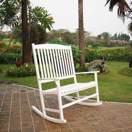 white outdoor rocking chair mainstays outdoor rocking chair white seats 2