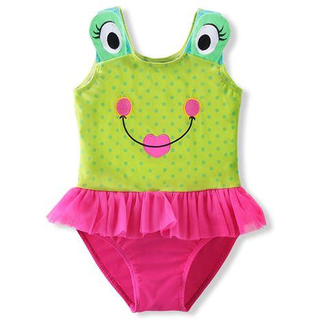 cute pattern swimsuit summer cute little frog pattern baby girls swimwear baby