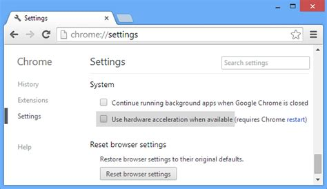 Chrome Hardware Acceleration | best way to fix windows 10 chrome browser freezing issues