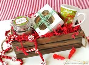 Christmas Homemade Gift Baskets - sweet homemade christmas gifts celebrations at home