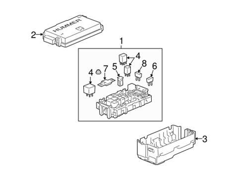 fuse relay   hummer  gmpartsdirectcom