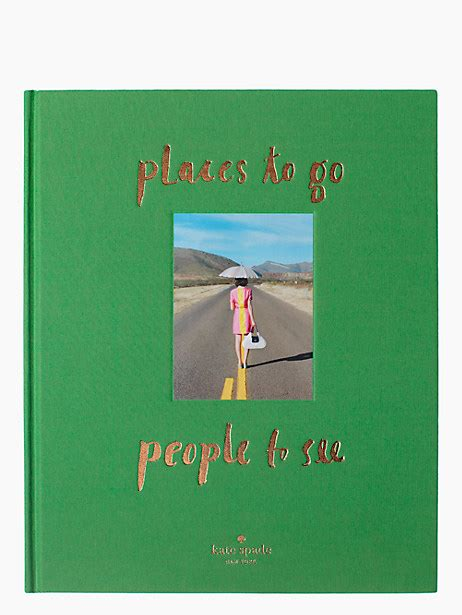 kate spade coffee table book places to go to see coffee table book kate spade