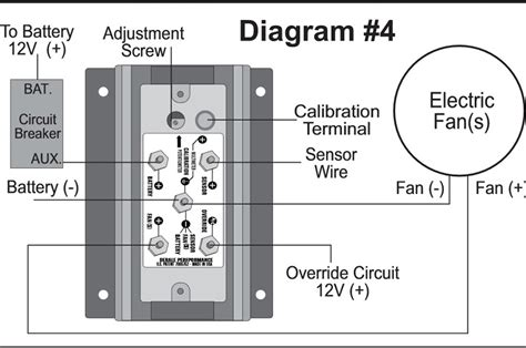 wiring diagram for derale fan controller wiring diagrams