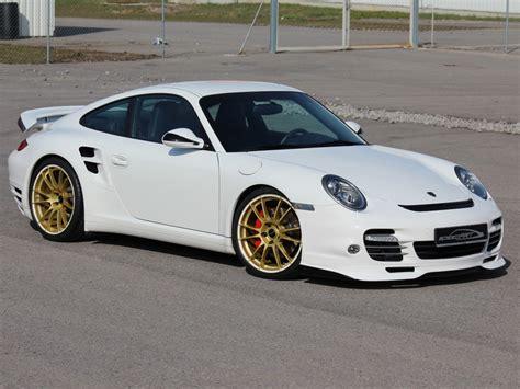 Tieferlegung Porsche 997 by Btr Ii 600 Evo Wei 223 Gold Speedart Porsche Tuning