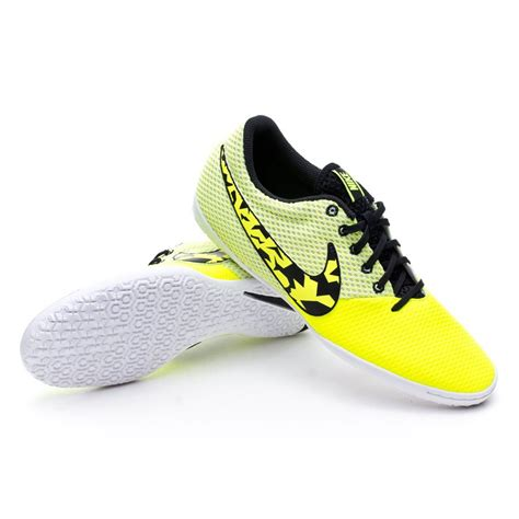 futsal boot nike elastico pro iii ic volt black white soloporteros is now f 250 tbol emotion