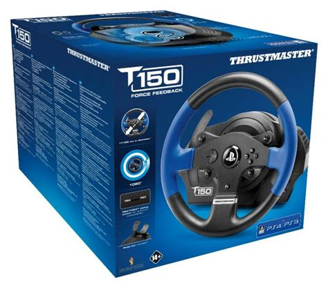 volante ps4 thrustmaster t150 racing wheel for ps3 ps4 pc the