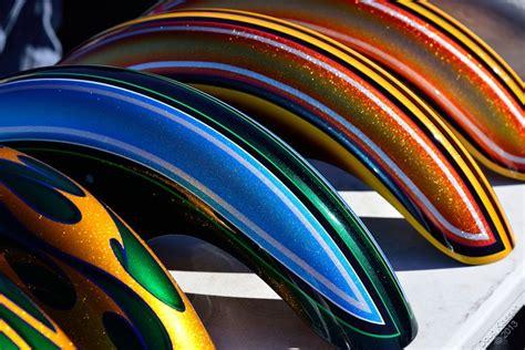 custom metal flake paint on motorcycle front fenders motorcycles in color custom