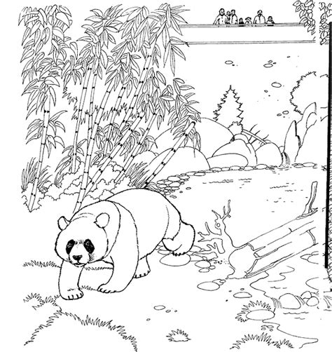 animal coloring pages panda kleurplaten en zo 187 kleurplaten van dierentuin
