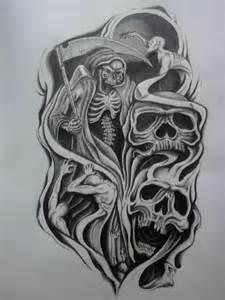 Skull And Gun Tattoos Designs » Home Design 2017