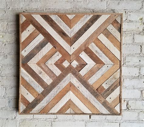starburst pattern wall art made from reclaimed wood barn reclaimed wood wall art decor lath triangle diamond