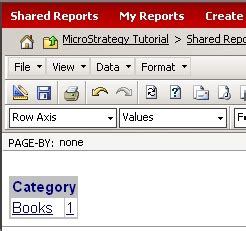 microstrategy tutorial web link tn15734 how to pass a value prompt answer using the url