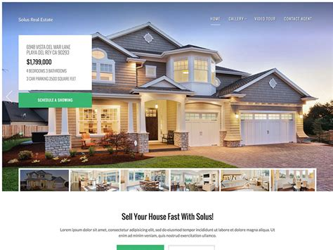 30 best real estate themes 2018 athemes