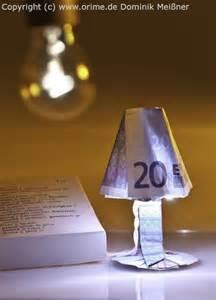 geld falten stuhl origami geldscheine und b 252 cher gefaltet und entworfen