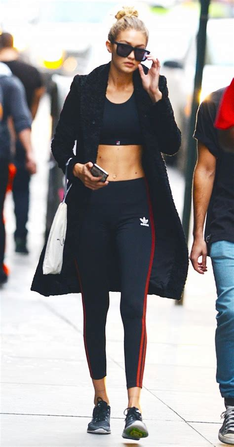 gigi hadid gym gigi hadid s trends 7 simple daily outfits you can copy