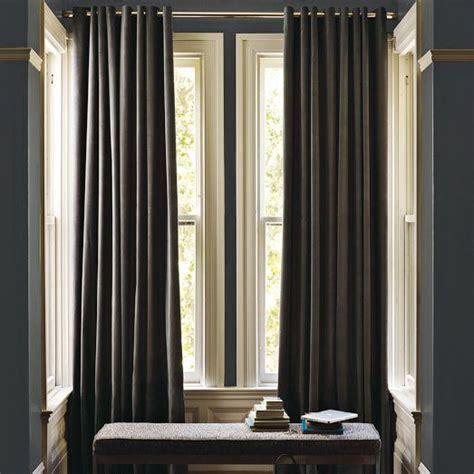 velvet grommet curtain iron west elm