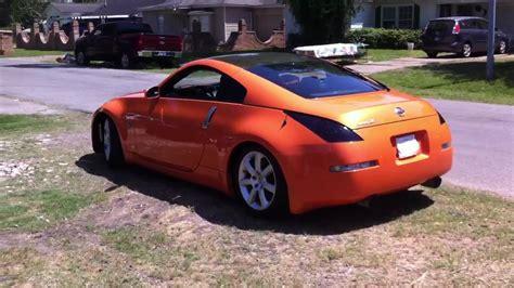 orange nissan 350z 2007 solar orange nissan 350z