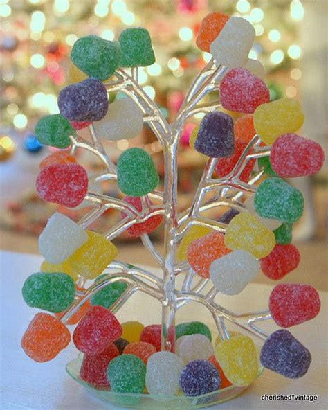 clear plastic gumdrop tree christmas pinterest