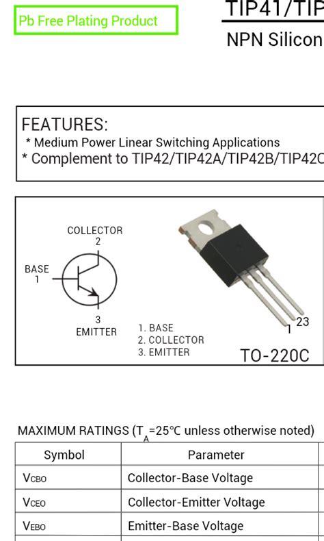 transistor tip 417 28 images current sense resistor mosfet 28 images high current power