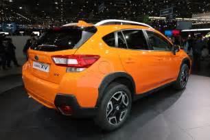 Subaru Cross Treck 2018 Subaru Crosstrek Debuts In Geneva Automobile Magazine