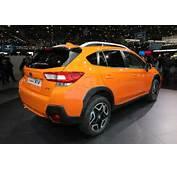 2018 Subaru Crosstrek Euro Spec Rear Three Quarters  Motor Trend
