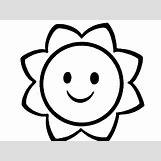 Happy Face Sun Black And White | 940 x 705 jpeg 63kB